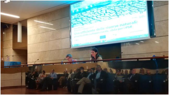 """Il convegno """"Uso efficiente delle risorse naturali nei PSR"""" a Bologna insieme a ENRD."""