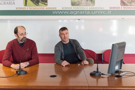 Dott. Lorenzo M. Abenavoli e Dott. Demetrio Fortugno