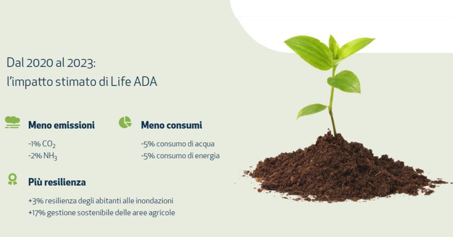 screenshot del sito ADA